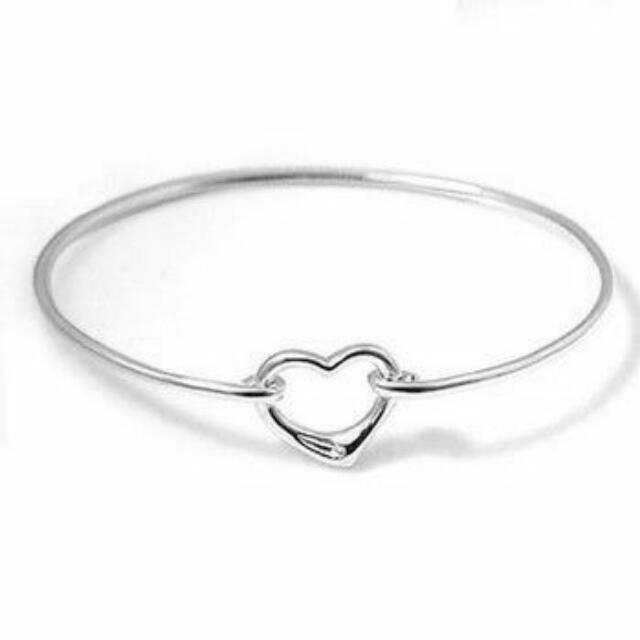 f7447c29d TIFFANY & CO Bangle ( Authentic ) ☆Elsa Peretti Open Heart Bangle ...