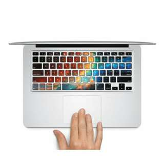 """Colours Of The Wind Design MacBook AIR/PRO 13/15"""" Keyboard Sticker Decal Bought From Germany (Sold Out!)"""