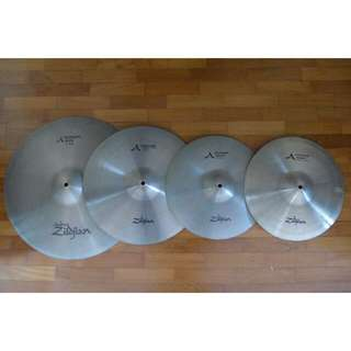 (PRICE REDUCED) Zildjian A Series Cymbals