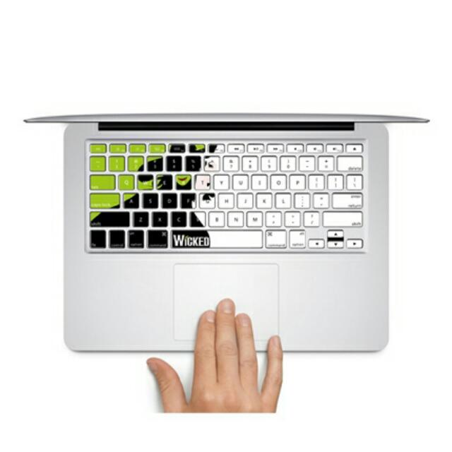 "Wicked Design MacBook AIR/PRO 13/15"" Keyboard Sticker Decal Bought From Germany (In Stock)"