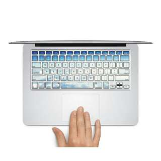 """Clear Blue Skies MacBook AIR/PRO 13/15"""" Keyboard Sticker Decal Bought From Germany (In STOCK)"""