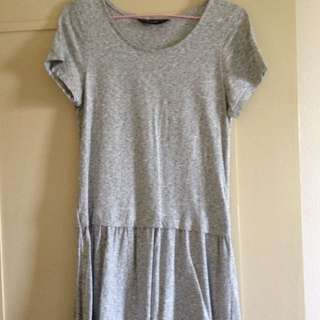 Dorothy Perkins Basic Grey Dress