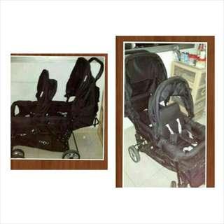 BABY ELEGANCE double Stroller