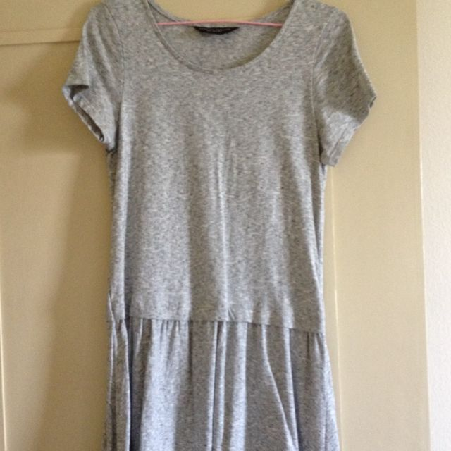 Dorothy Perkins Basic Grey Dress