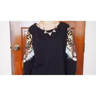 H&M Tiger Pullover