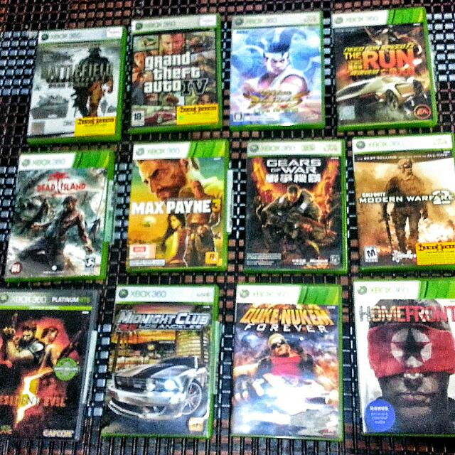 ALL MUST GO! Clearing Xbox 360 Games!