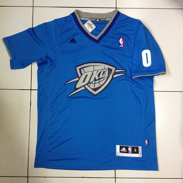 new styles 9b44e d7cf9 Russell Westbrook NBA Christmas Edition Jersey, Sports on ...