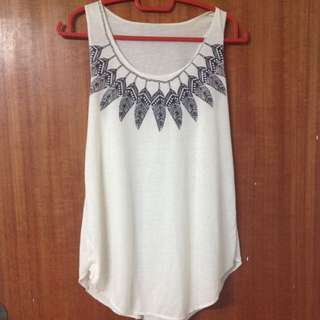 Feathers Loose Top