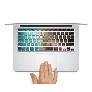 Azure Starburst Design MacBook AIR/PRO 13 and 15 inch sticker Decal