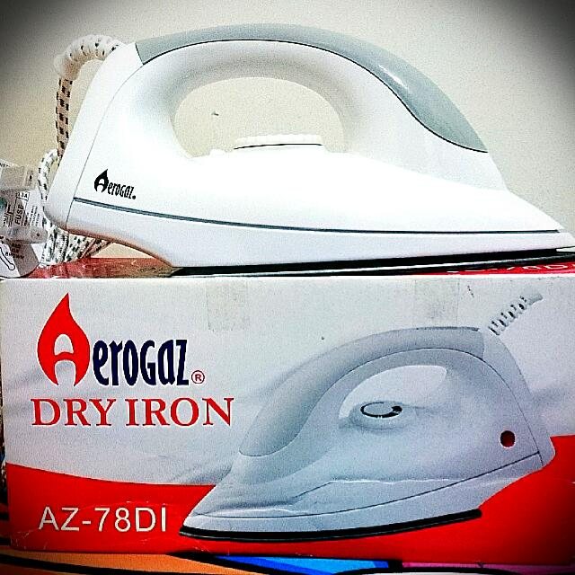 Brand New Aerogaz Dry Iron (for Clothes)