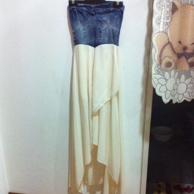 Tube Maxi Bustier Dress