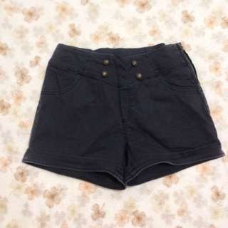 Black Sailor Shorts