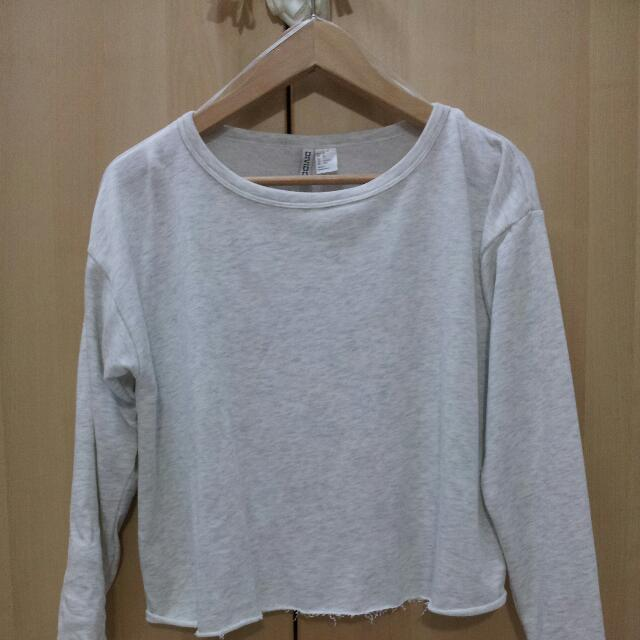 H&M basic sleeved in grey