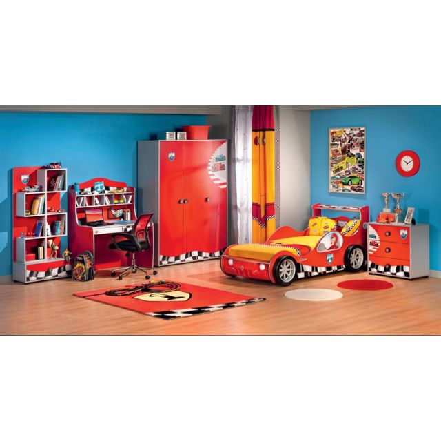 Cilek Brand Racer Turbo Car Bed Without Mattress Babies Kids On