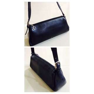 Authentic Braun Buffel Full Leather Black Hand Bag