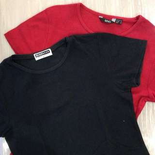 Red & black t-shirts