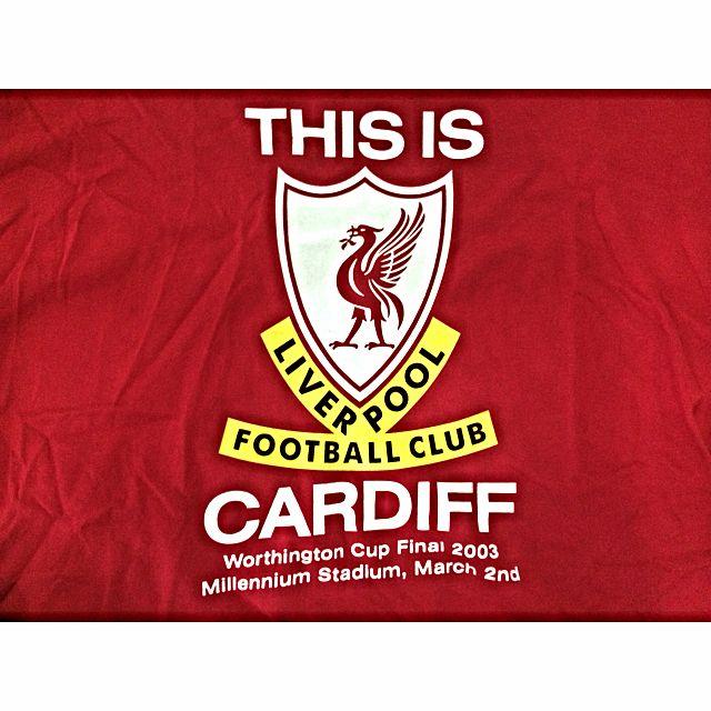 959657c2088 Pre-Loved Authentic Liverpool FC Commemorative T Shirt (Worthington ...