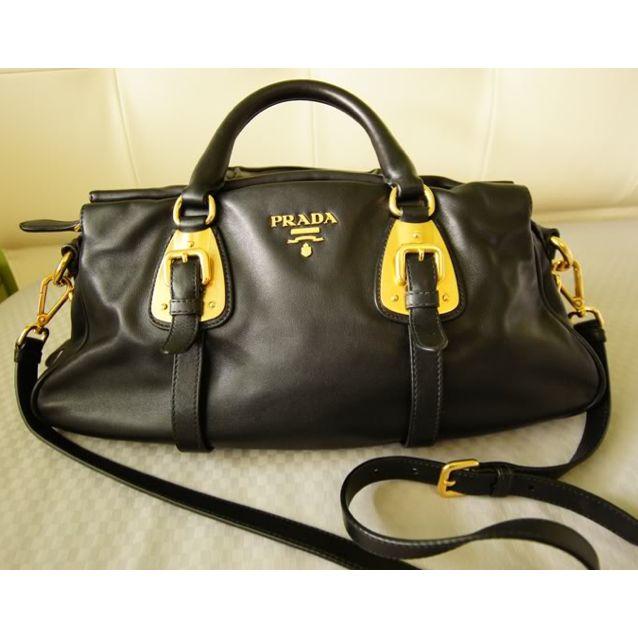 8ab27718f785 Prada Bauletto Soft Calf Bag BN1903, Luxury on Carousell