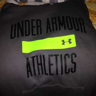 Grey Under Armour Hoodie M Size