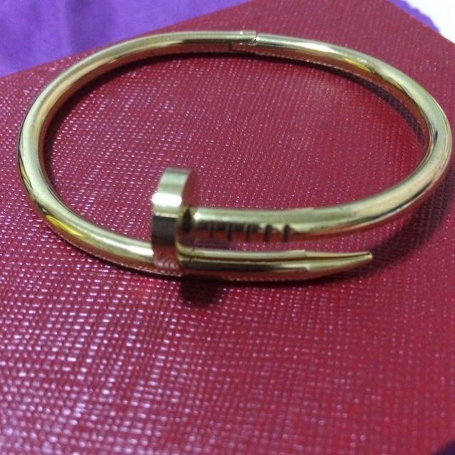 Nail Cartier Inspired Bracelet