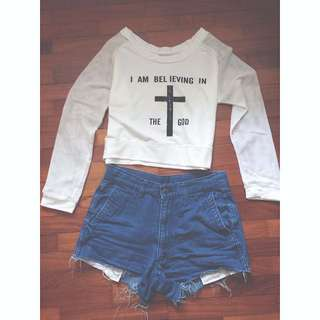 I AM BELIEVING IN GOD PULLOVER