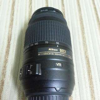 Nikon Nikkor 55-300mm Zoom Lens