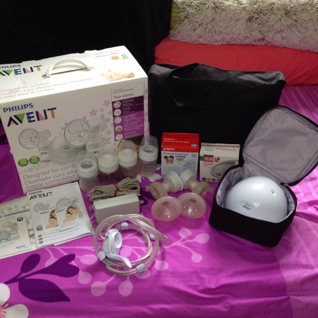 Isis iq duo twin electric breast pump