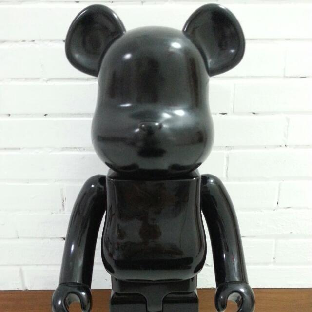 get cheap super cheap buying cheap Rare 1000% Black Colette meets Comme Des Garcons BearBrick ...