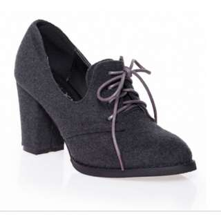 The Closet Lover, Backorder Item, Emma Boots (Grey) in Size 37