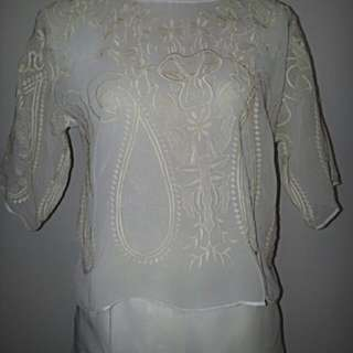 Delicate Embriodered Blouse