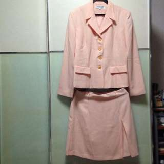 Vintage formal wear set in pink