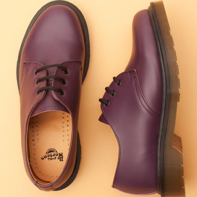 Cherry Red Rouge Low Cut Dr Martens