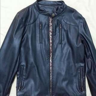 Cool Faux Leather Jacket