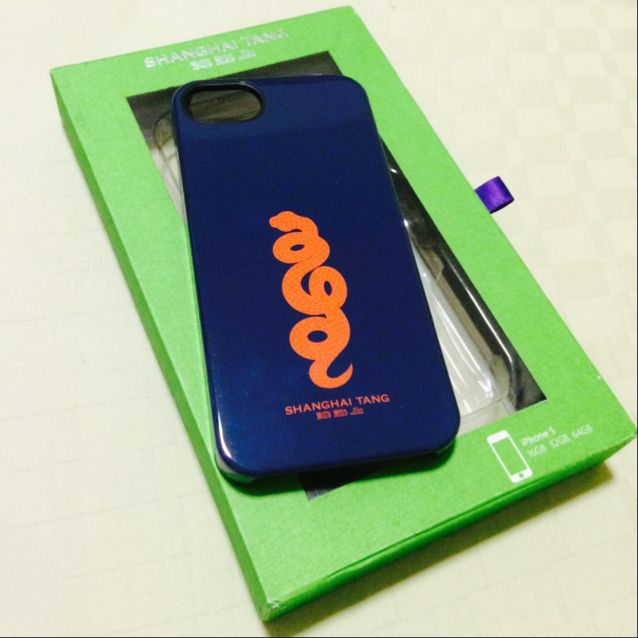 Shanghai Tang iPhone 5 Cover (New & Unused)