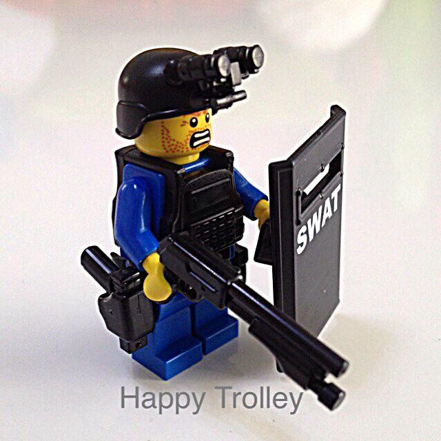 Lego Swat Police Team Minifigurine Custom Made Toys Games On