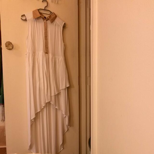 Collared Maxi Dress