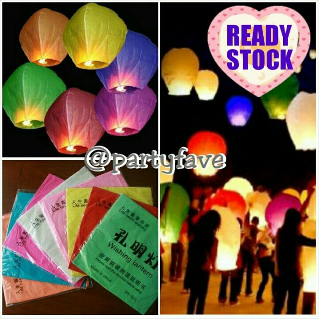 Colorfull Sky Lantern