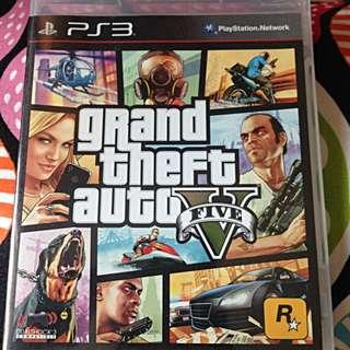 GTA 5 (V) PS3 r3