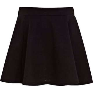 PENDING Black Skater Skirt