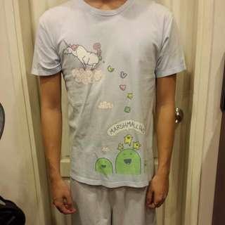 """Threadless """"Marshmallow Factory"""" T-shirt"""
