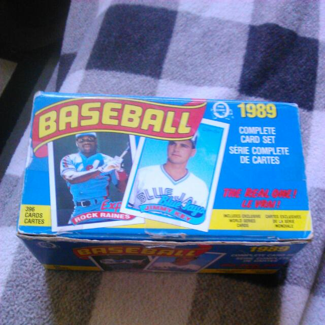 1989 Original Complete Baseball Card Set