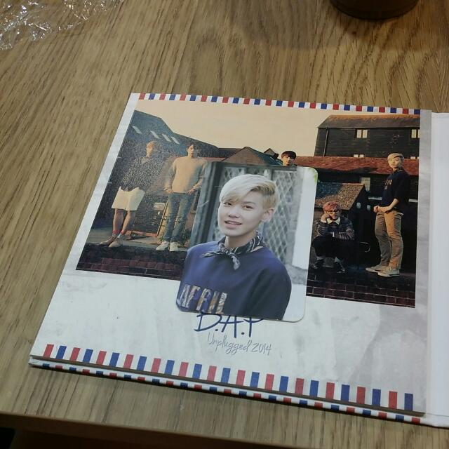 RESERVED [Trade] Zelo Photocard