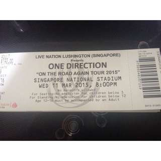 [Pending] A Pair Of One Direction Tickets