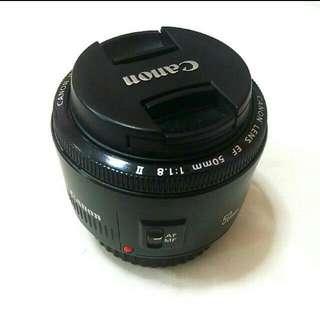 EF 50mm f/1.8 II Canon Lens