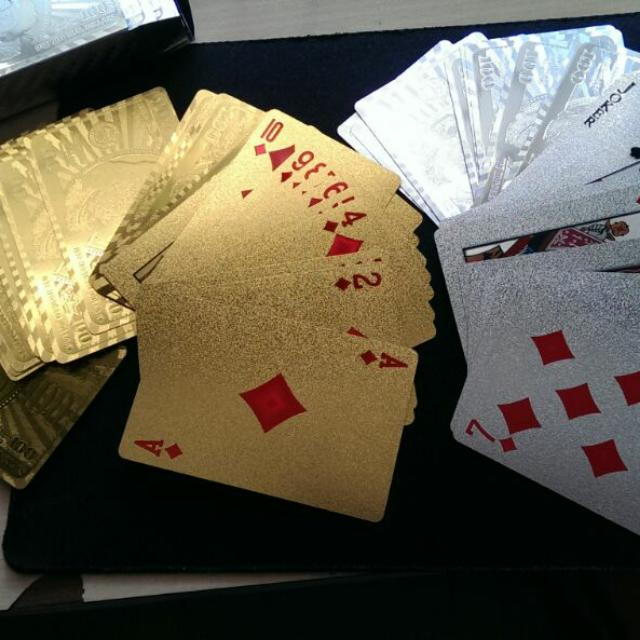 Gold & Silver Plated Playing Cards