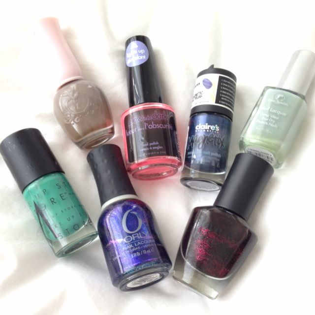 Nail Polish Clearance! Orly, Make Up Store, F21 Love & Beauty, Étude ...