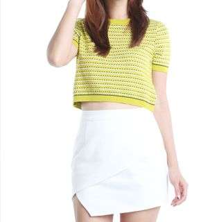 The Tinsel Rack Lauren Pelmet Skirt L