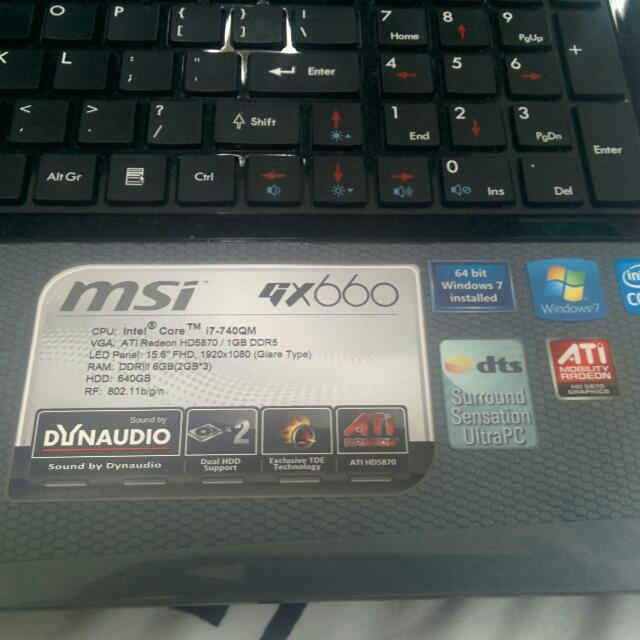 (reserved) Pendinig To bro fertfert.Selling Gx660 Msi