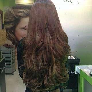 Sale! BESTSELLING  Korean Clip On Hair Extensions