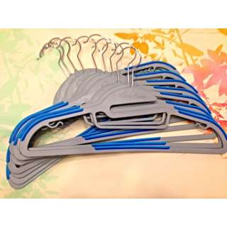 (REDUCED) Home Power Anti-Slip Functional Hangers (Two tone)